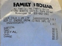 bpa receipt