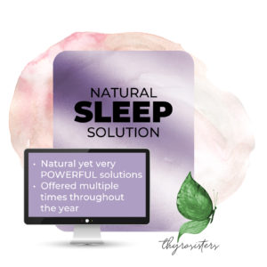 Natural Sleep Solution Program